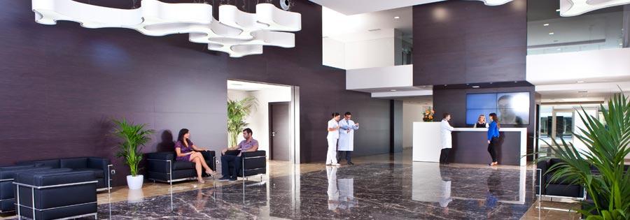 Hospital completamente nuevo, instalaciones inmejorables