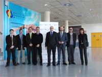 Reunión de la Universidad Miguel Hernández con IMED Elche