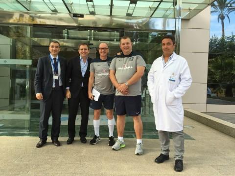 Dr. Ian Beasley - English national team