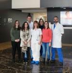Alumnos de enfermería CEU en IMED