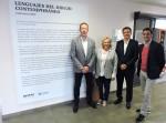 Representantes de IMED y DKV inauguran la exposición
