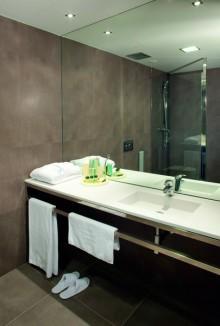 Detalle Cuarto de Baño Habitación Individual